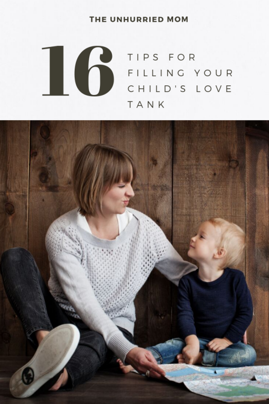 Fill Your Child's Love Tank