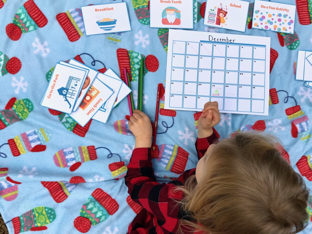 Helping Children Manage Changes in Routine: Visual Schedule Cards