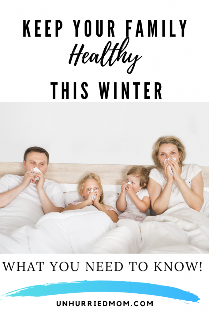 Simple steps to keep your family healthy this cold and flu season