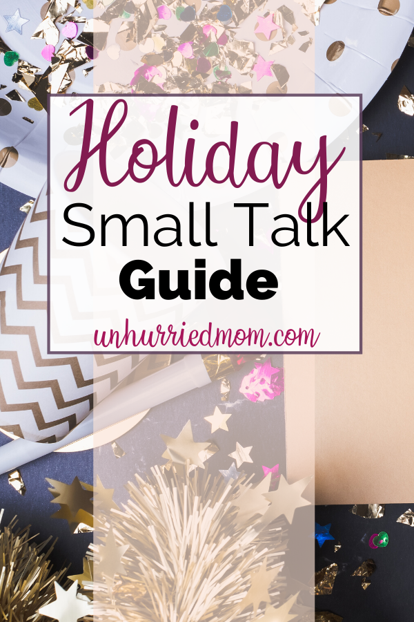 Holiday Small Talk Guide