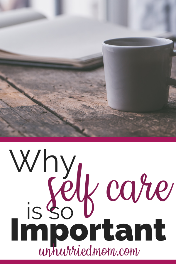 self care - coffee and journal