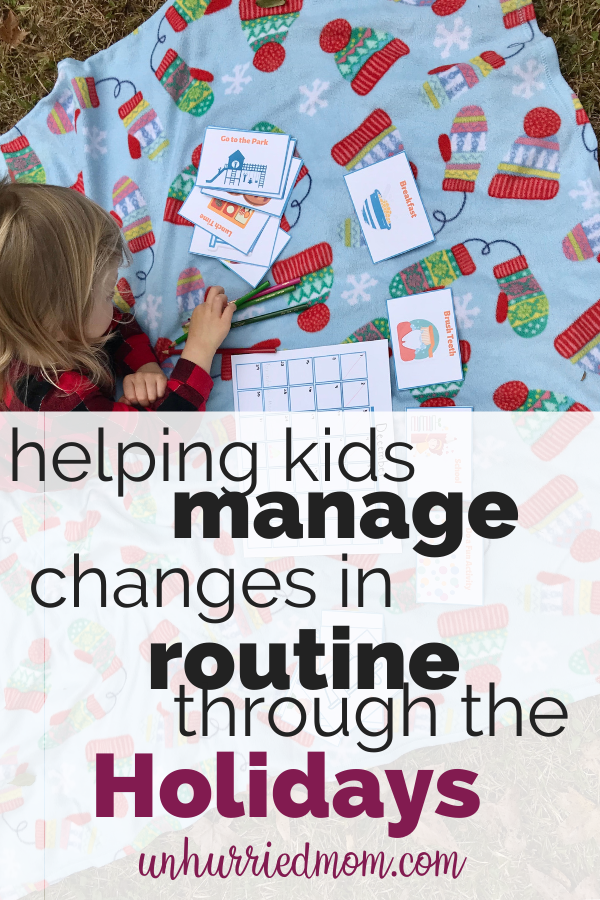 Helping Kids Manage Changes in Routine During the Holidays