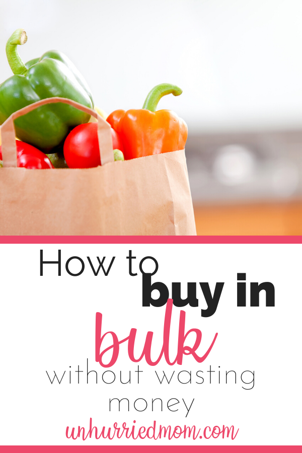 how to buy in bulk on a budget
