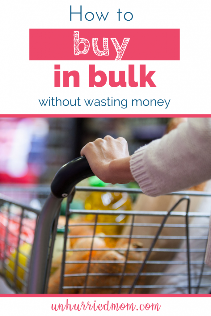 How to buy in bulk without wasting money