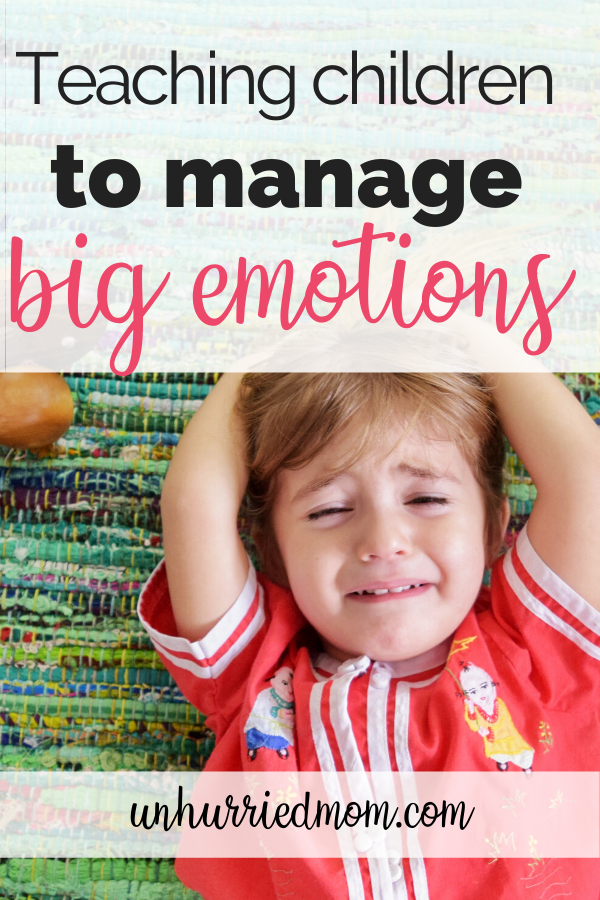 teaching children to regulate their own emotions