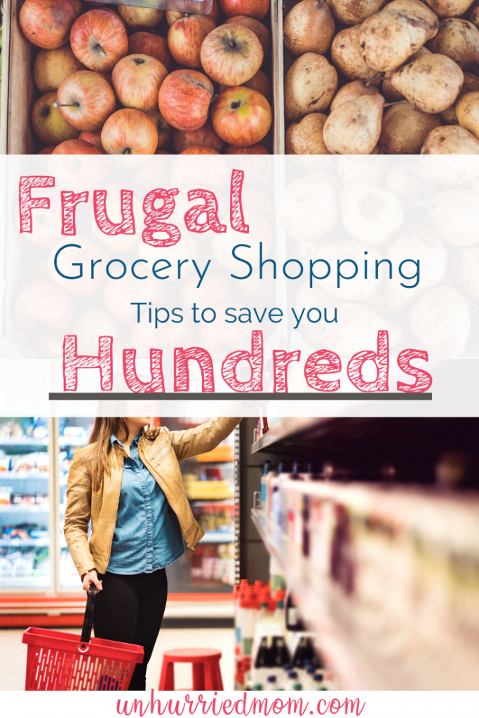 Frugal Grocery Budget Tips