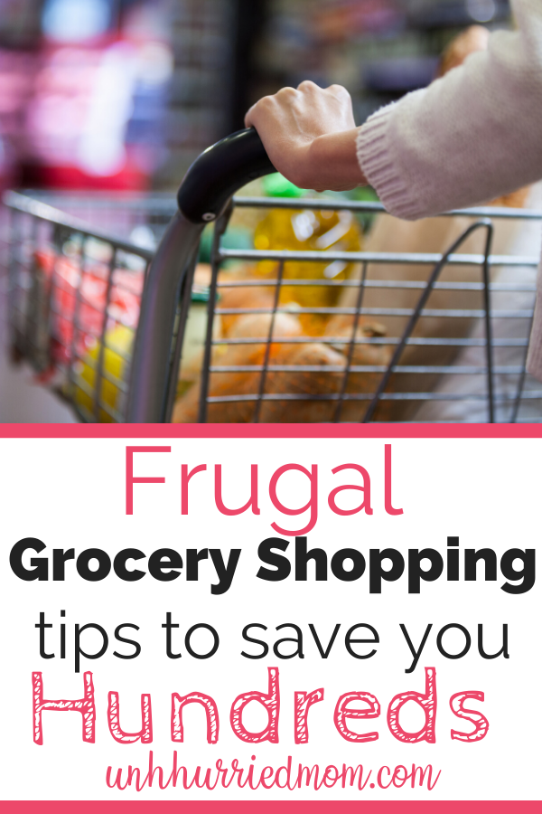 Frugal Grocery Shopping Tips