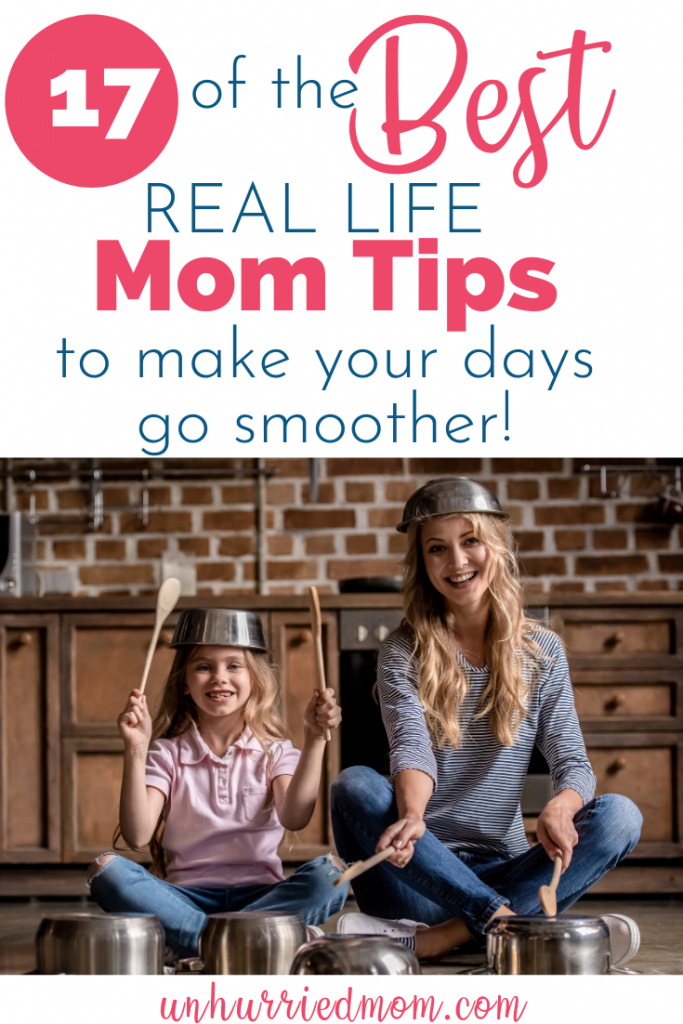 Best busy mom tips