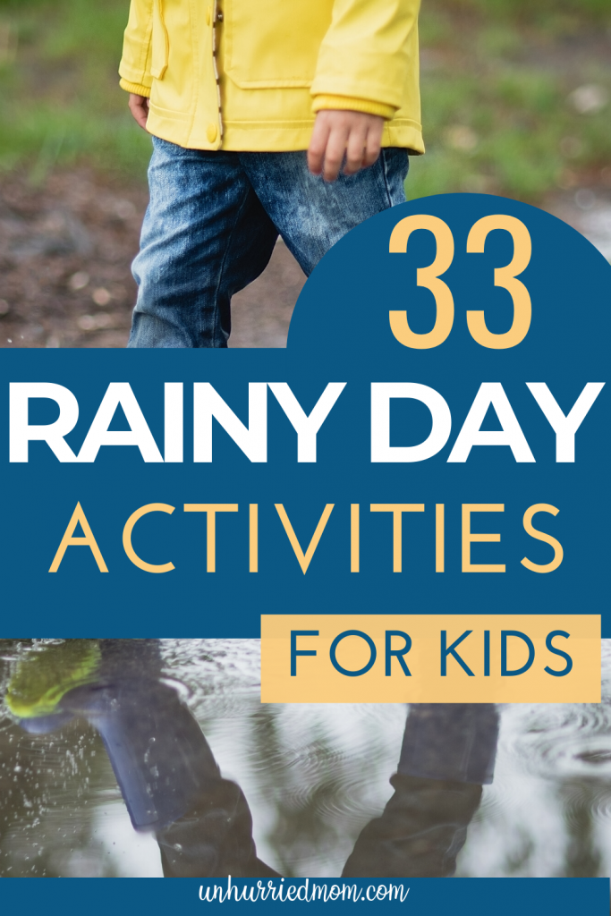 Rainy Day Activities - adventure