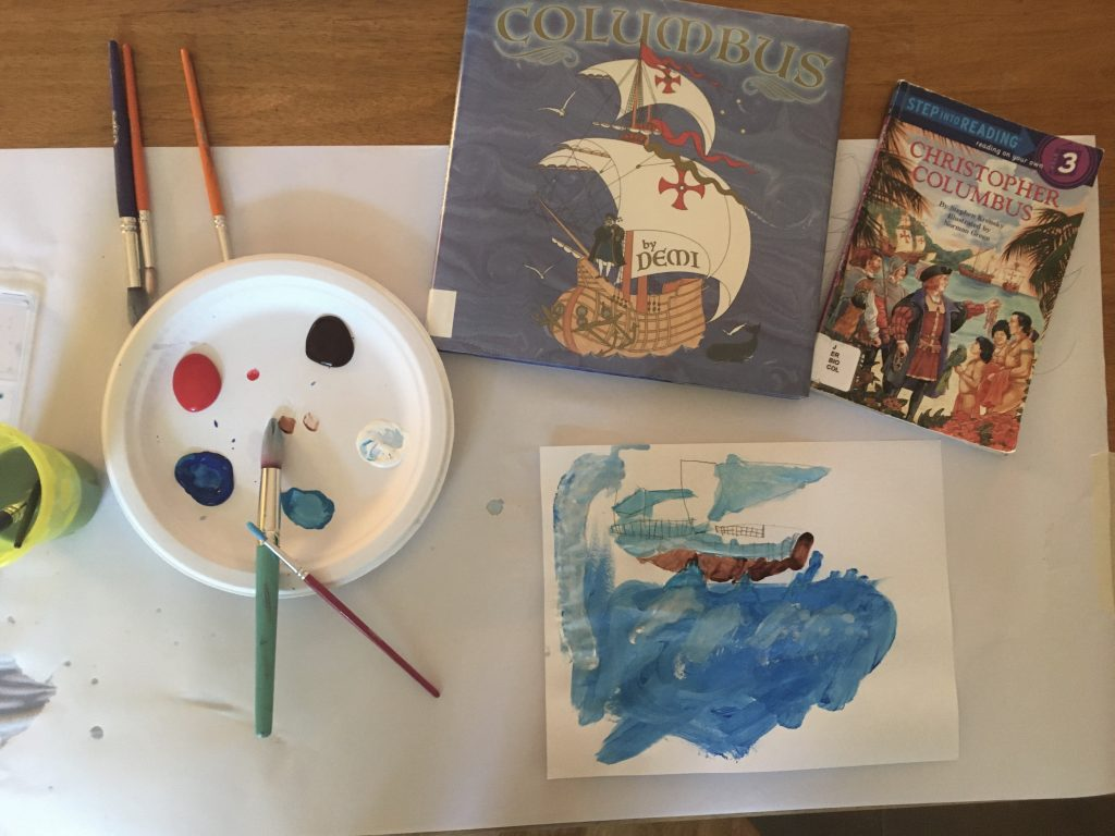 Rainy day activities for kids: art
