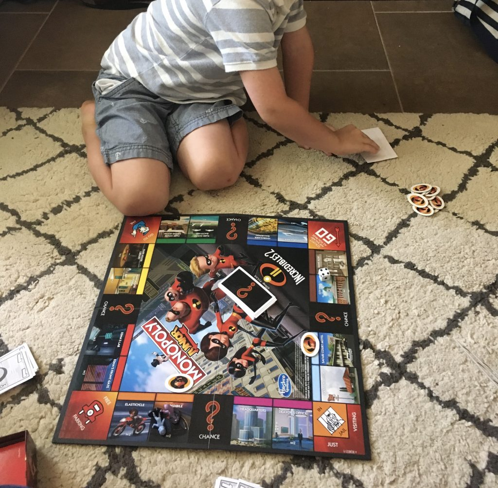 rainy day activities - games