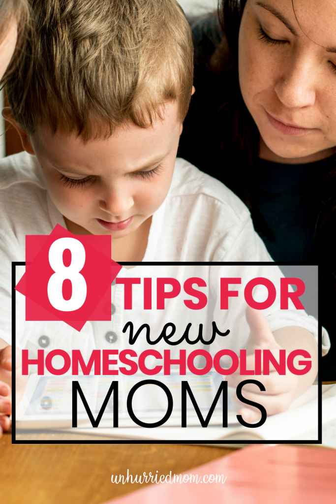 Tips for New Homeschooling Moms