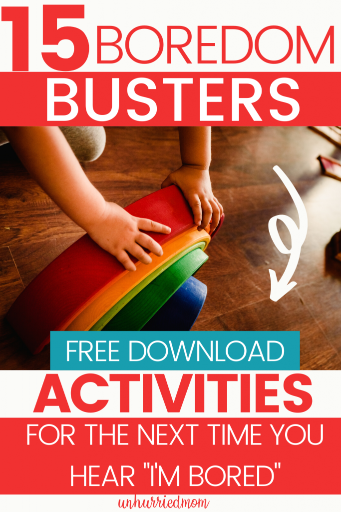 Boredom Busting Activities - Free Download