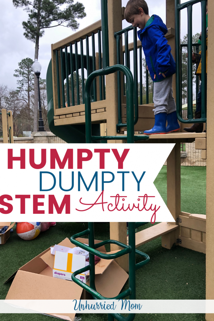 Humpty Dumpty STEM Activity