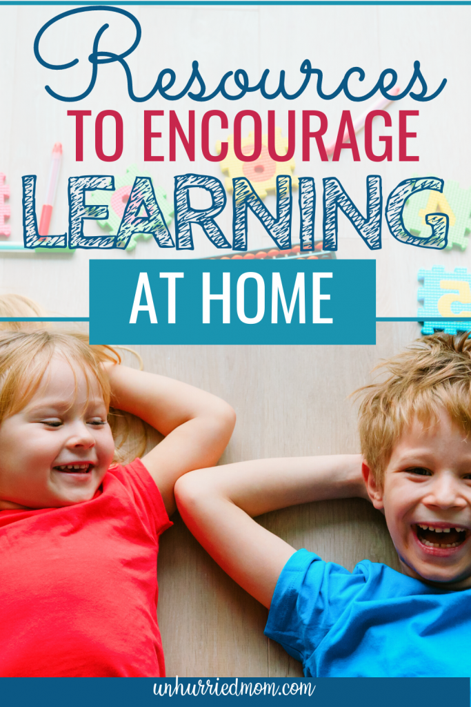 Resources to Encourage learning at home