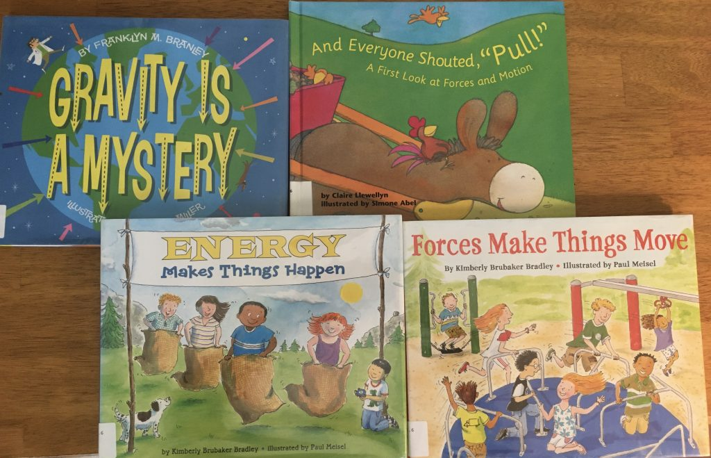 Picture Books - Energy, Gravity, and Force