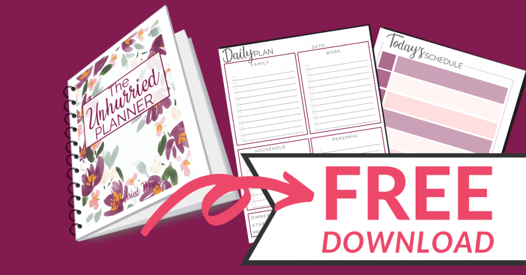 Free planner download