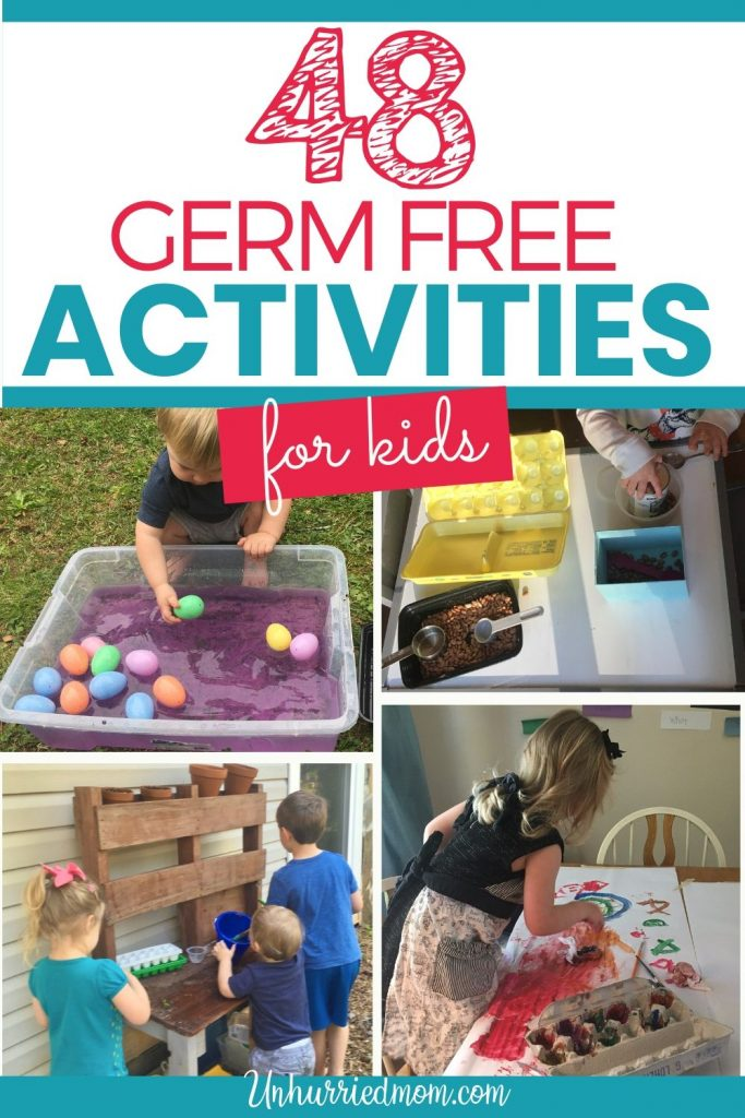 48 Germ Free Activities for Kids